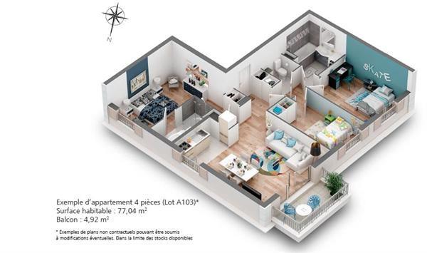 Vente Maison 5 pièces 118,93m² L Isle Adam