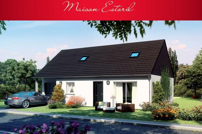 """Modèle de maison  """"Modèle de maison 6 pièces"""" à partir de 6 pièces Oise par MAISONS BROOKS REIMS"""