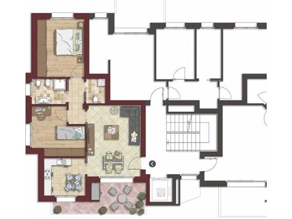 Vente Appartement 4 pièces 107m² Bologna