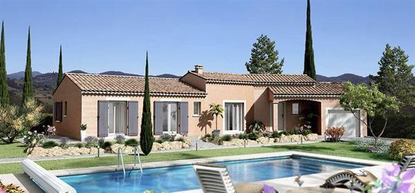 Maison  5 pièces + Terrain 1066 m² Cornillon-Confoux par VILLAS TRIDENT SALON DE PROVENCE