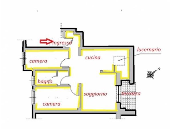 Vente Appartement 4 pièces 80m² Portofino