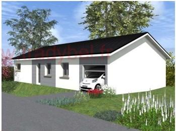 Maison  4 pièces + Terrain 542 m² La Chapelle-de-la-Tour par TRADYBEL RHONE