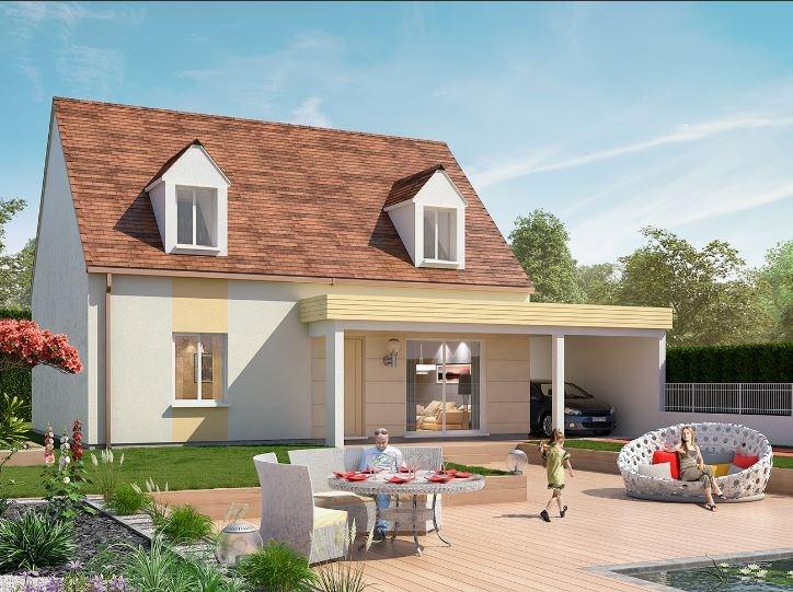 Maison  6 pièces + Terrain 448 m² Chaumes-en-Brie par Concept R Home