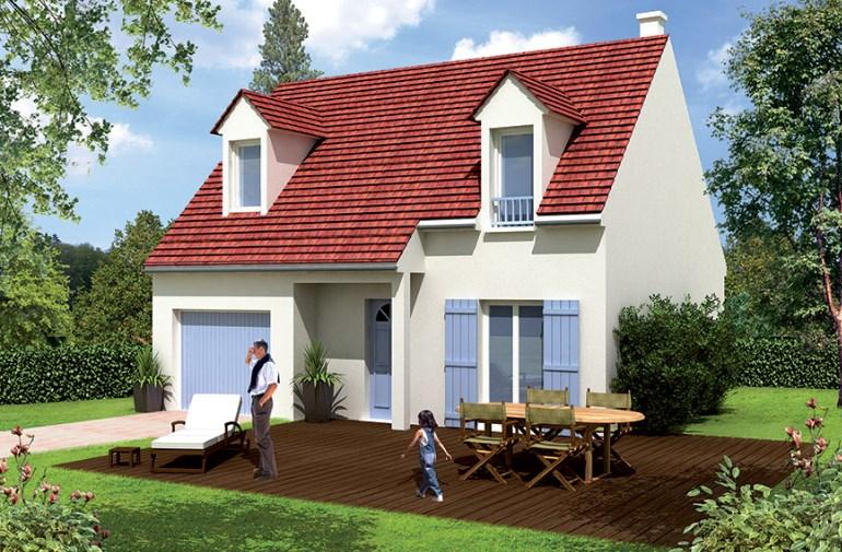 Maison  5 pièces + Terrain 346 m² Pontault-Combault par MAISONS BARILLEAU