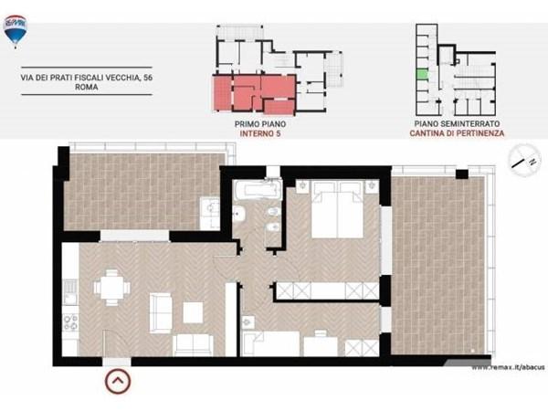 Vente Appartement 2 pièces 53m² Roma