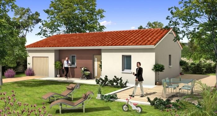 """Modèle de maison  """"Laissez-vous séduire par notre modèle ANETH à partir de 70 m²"""" à partir de 3 pièces Yonne par MAISONS D'EN FRANCE BOURGOGNE"""