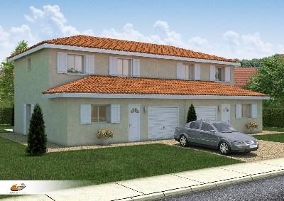 Maison  6 pièces + Terrain 210 m² Saint Didier sur Chalaronne par DEMEURES RHONE ALPES