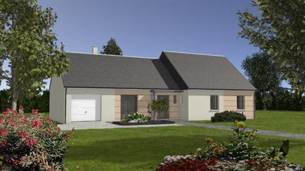 Maison  5 pièces + Terrain 867 m² Pezou par maisons ericlor