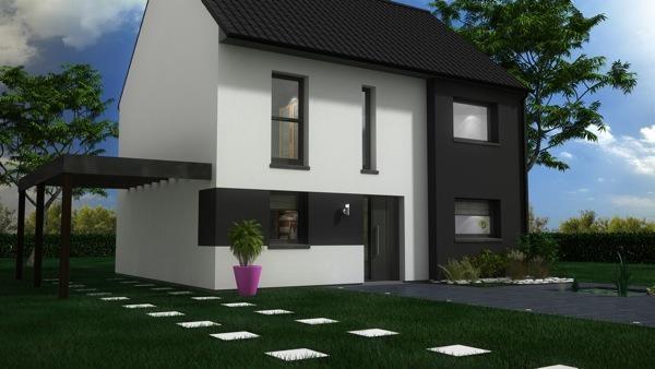 Maison  5 pièces + Terrain 443 m² Neuf-Berquin par Maison Castor Lezennes