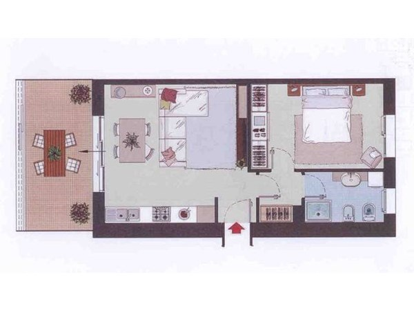 Vente Appartement 55m² Pesaro
