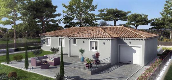Maison  5 pièces + Terrain 700 m² Mallemort par VILLAS TRIDENT SALON DE PROVENCE