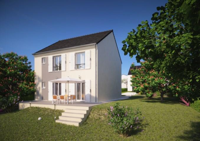 """Modèle de maison  """"Modèle de maison 5 pièces"""" à partir de 5 pièces Seine-et-Marne par Maison pierre"""
