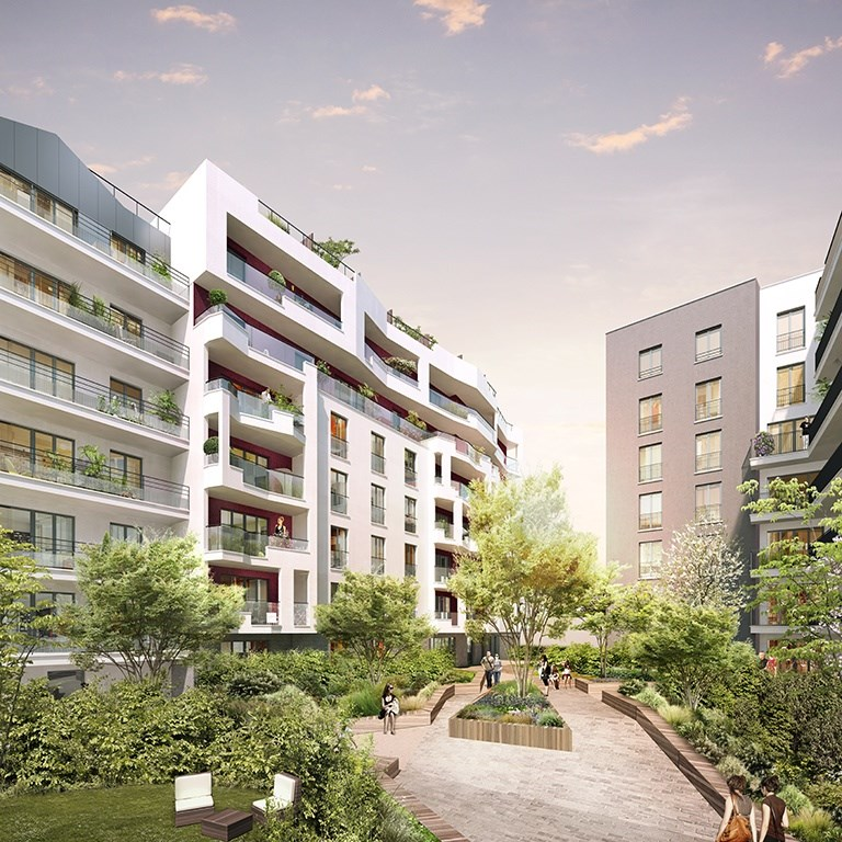 Investissement Studio 27,7m² Romainville