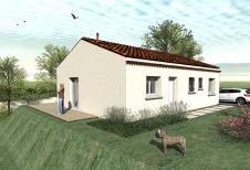 Maison  3 pièces + Terrain 500 m² Ruoms par COTRIN 26