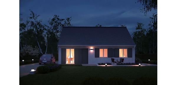 Maison  4 pièces + Terrain 1100 m² La Chapelle-Saint-Luc par MAISONS PIERRE