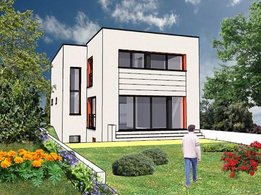 """Modèle de maison  """"Modèle contemporain de 6 pièces"""" à partir de 6 pièces Essonne par ARCHIVIM SUD ILE-DE-FRANCE"""