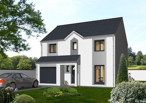 Maison  4 pièces + Terrain 356 m² Villeparisis par MAISONS DEAL