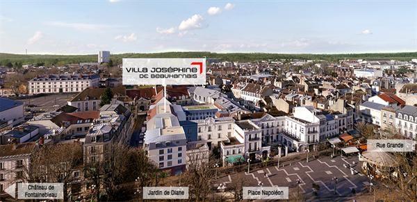 Villa jos phine de beauharnais programme immobilier neuf for Piscine fontainebleau