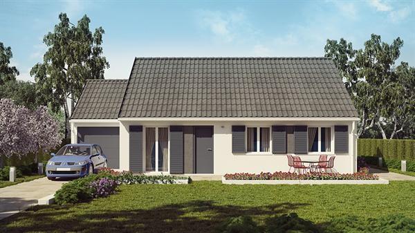 Maison  4 pièces + Terrain 520 m² Brie-Comte-Robert par MAISONS PIERRE