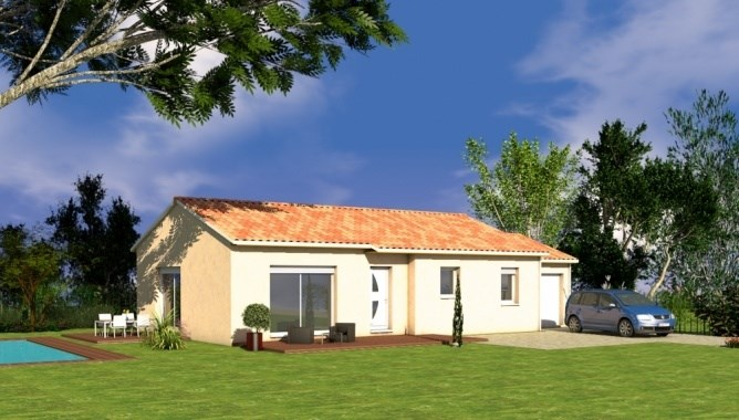 Maison  4 pièces + Terrain 3300 m² Montsalès par SOCIETE CONSTRUCTIONS SEGONDS