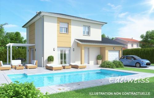 Maison  4 pièces + Terrain 549 m² Blyes (01150) par BATI EST