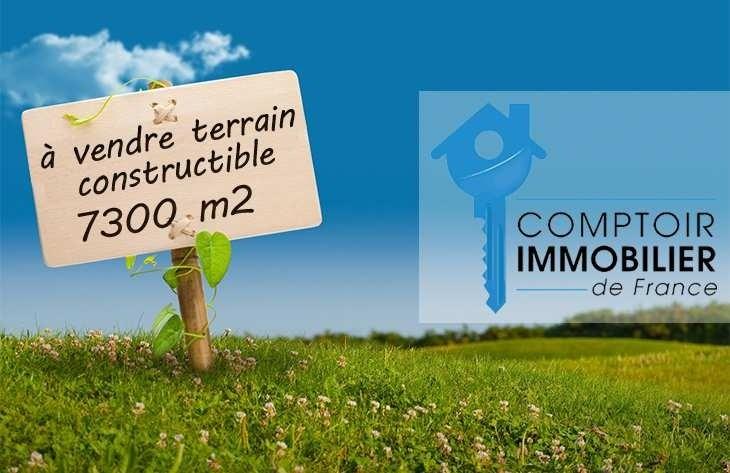 Vente Terrain constructible 7300m² Alboussiere