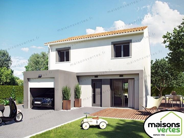 Maison  4 pièces + Terrain 183 m² Pézenas par MAISONS VERTES DE L'AUDE - 34420 VILLENEUVE LES BEZIER