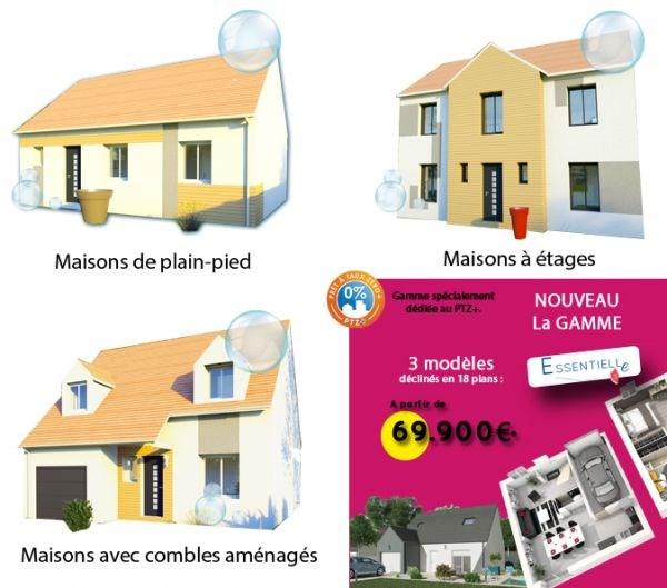 """Modèle de maison  """"Modèle de maison 4 pièces"""" à partir de 4 pièces Hauts-de-Seine par MAISONS SESAME"""