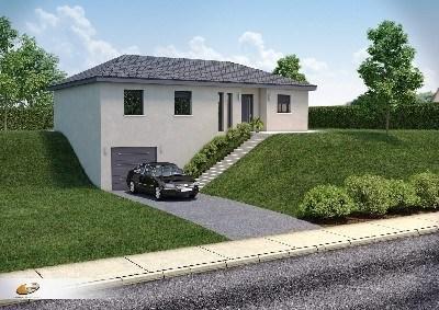 Maison  5 pièces + Terrain 702 m² Serpaize par DEMEURES RHONE ALPES