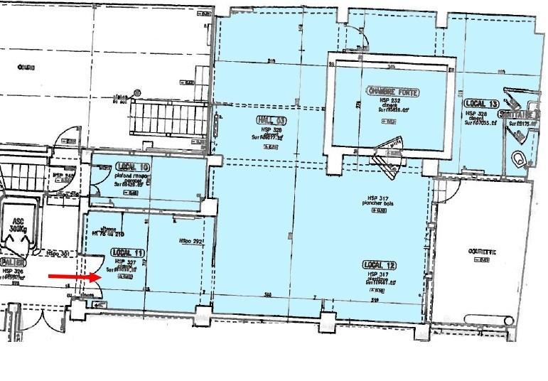 location bureau paris 10 me bureau 100m 2275 mois. Black Bedroom Furniture Sets. Home Design Ideas