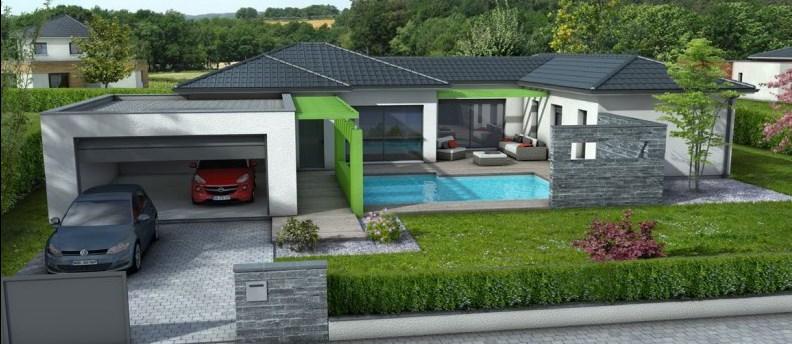 Maison  5 pièces + Terrain 1248 m² Lherm par MAISONS CLAIR LOGIS TOULOUSE-SUD