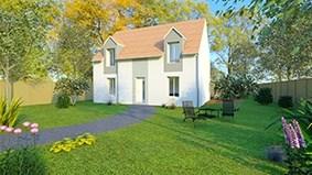 Maison  5 pièces + Terrain 319 m² Dourdan par MAISONS SESAME