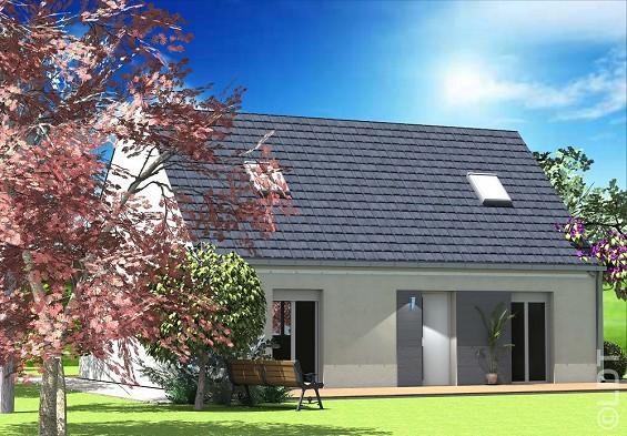 Maison  7 pièces + Terrain 466 m² Saint-Fargeau-Ponthierry par L.D.T VIRY CHATILLON