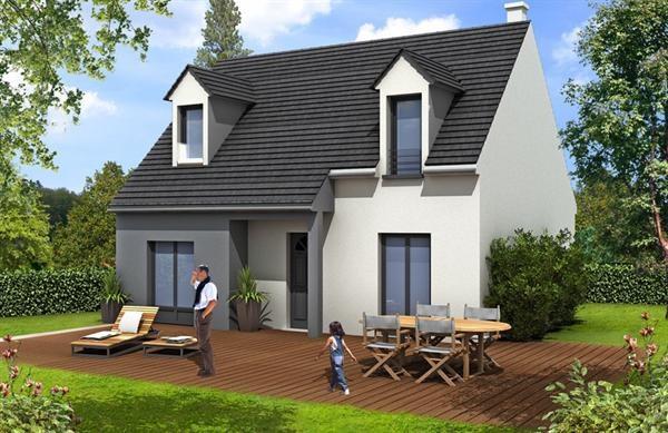 Maison  5 pièces + Terrain 390 m² Vernouillet (78540) par MAISONS BARILLEAU
