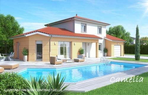 Maison  5 pièces + Terrain 440 m² Jonage (69330) par BATI EST