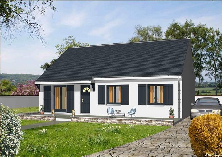 Maison  5 pièces + Terrain 720 m² Châtres par MAISONS DEAL