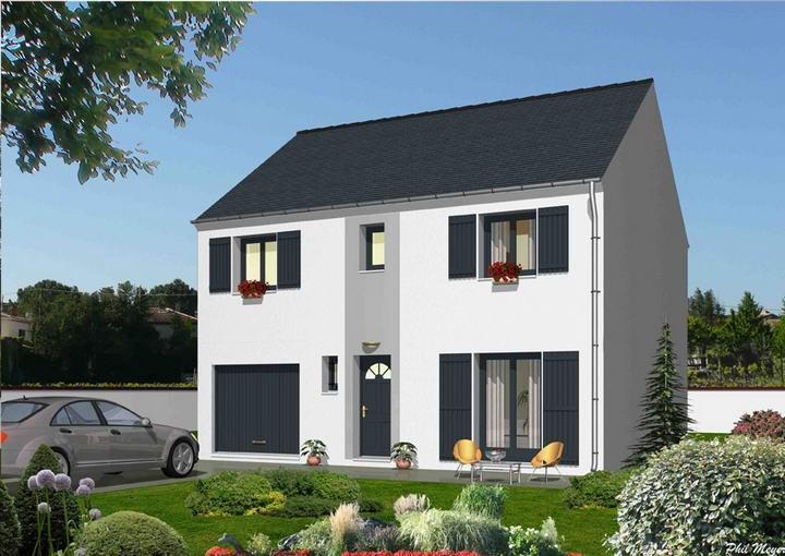 Maison  5 pièces + Terrain 472 m² Saint-Thibault-des-Vignes par MAISONS DEAL