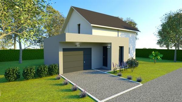 Maison  4 pièces + Terrain 3500 m² Sermamagny (90300) par IMMO REECHT