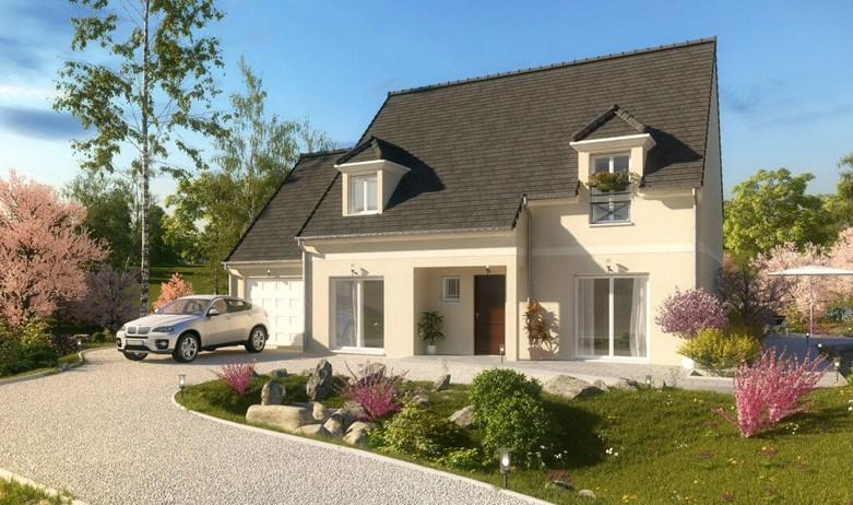 Maison  6 pièces + Terrain 495 m² Saint-Leu-la-Forêt par MAISON PIERRE