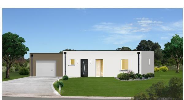 """Modèle de maison  """"Modèle de maison 4 pièces"""" à partir de 4 pièces Drôme par CITY CONSTRUCTIONS"""