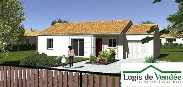 Maison  4 pièces + Terrain 542 m² Saint-Georges-de-Pointindoux par Logis de Vendée