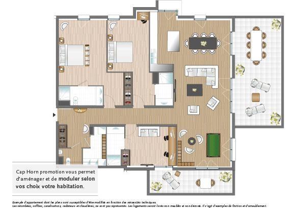 le clos saint andr programme immobilier neuf mont st. Black Bedroom Furniture Sets. Home Design Ideas