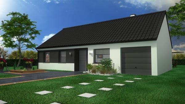 Maison  5 pièces + Terrain 450 m² Cambrin par Maison Castor Lens