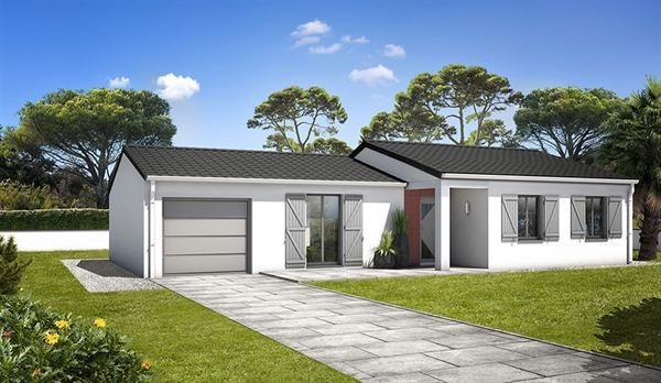 Maison  4 pièces + Terrain 371 m² Soubise par LES LOGIS DU PERTUIS