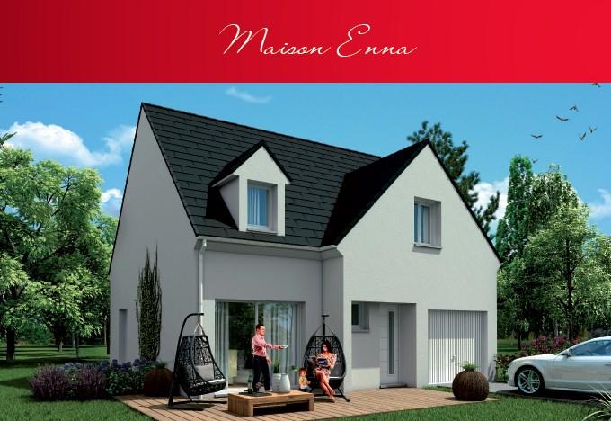 """Modèle de maison  """"Modèle de maison 5 pièces"""" à partir de 5 pièces Seine-et-Marne par MAISONS BROOKS REIMS"""