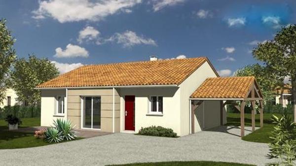 Maison  5 pièces + Terrain 371 m² Bretignolles-sur-Mer par LOGIS DE VENDEE