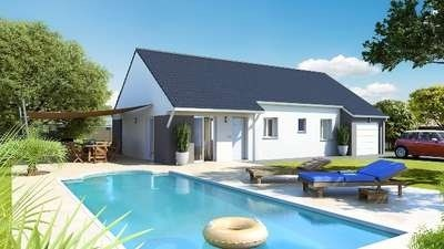 Maison  4 pièces + Terrain 835 m² Sanvignes les Mines par Top Duo Chalon