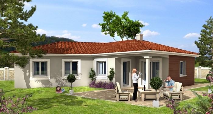 """Modèle de maison  """"Découvrez notre modèle CIVETTE, actuel et facile à vivire"""" à partir de 5 pièces Côte-d'Or par MAISONS D'EN FRANCE BOURGOGNE"""