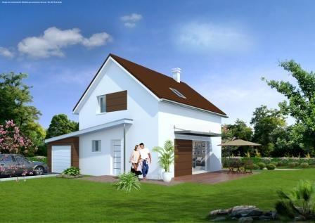 Maison  5 pièces + Terrain 315 m² Grandfontaine par MAISONS ROCBRUNE