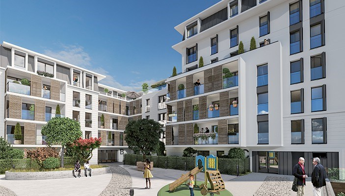Villa mansio programme immobilier neuf maisons alfort for Immobilier neuf idf